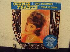 CONNIE FRANCIS - canta os grandes temas do cinema    ***Bra - Press***