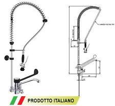 Gruppo Doccia Miscelatore Rubinetto Professionale Doccione Cucine Ristorante D