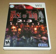 House Of The Dead 2 & 3 (Cover Art Only) Nintendo Wii Authentic