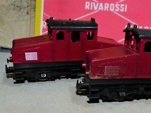 LIMA -2 locomotori da manovra tipo tedesco -Anni 60-Funzionanti-Occasione-VEDI-