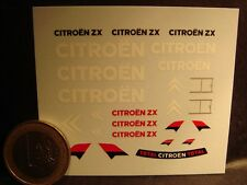 DECALS 1/43 - CHEVRON CITROËN ZX  - T276