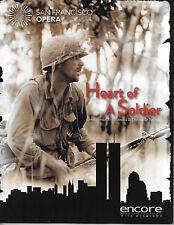 2011 San Francisco Opera Program - HEART OF A SOLDIER - Theofanidis/Di Novelli