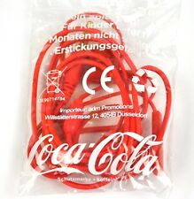 Coca-Cola Coke Kopfhörer Ohrhörer rot Earphones