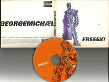 GEORGE MICHAEL Freeek 3TRX w/ REMIXES SCUMFROG Europe CD single USA seller freak