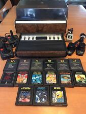 Sears Tele-games Atari 2600 Heavy Sixer W/ Original Storage Center and 15 Games!