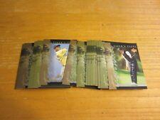 Tiger Woods 2001 Upper Deck Tiger's Tales 30 Card INSERT Set PGA Golf