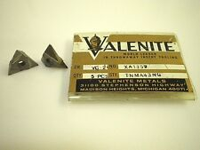 5 Valenite Xa 1159 Tnma43ng Grade Vc 2 Cutters Grooving Tool Inserts Fast Ship
