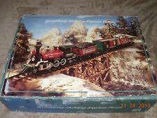 New Bright Greatland Holiday Express G Scale Train Set, Battery Operated 1993