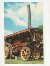 Burrell Showmans Traction Engine Postcard 646a
