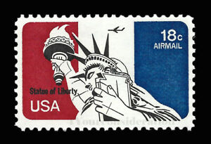 1974 Scott #C87 - .18¢ STATUE OF LIBERTY - VF-MNH-OG Airmail Single