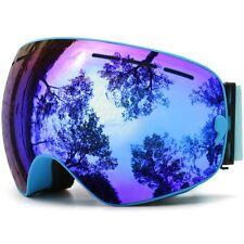 JULI Ski Goggles,Winter Snow Sports Snowboard Goggles With Anti-fog UV Dual