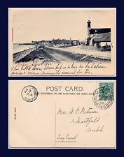 UK SCOTLAND MORAY FINDHORN POSTED 1903 TO KENDAL WITH CANCEL NUMBER 145