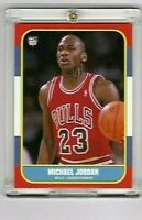 MICHAEL JORDAN  'COPY OF FAMOUS ROOKIE CARD'  CHICAGO BULLS  1984-1986  #23