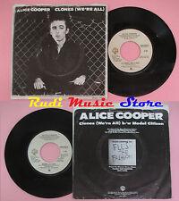 LP 45 7'' ALICE COOPER Clones Model citizen 1980 usa WARNER WBS 49204 cd mc dvd