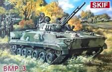 BMP 3 con interior (soviético/ruso IFV) 1/35 SKIF Rara!
