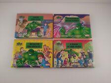 Hulk Smash Pop-up Series Marvel 2002 Michi Fujimoto Complete Set of 4 Books OOP