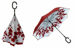 Poppy Mpressions Reversible Umbrella