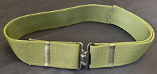 More details for british army working olive green belt