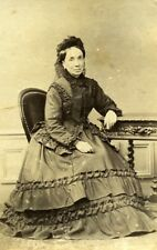 Madame Radot Portrait Meudon France Old Photo Delaporte 1875