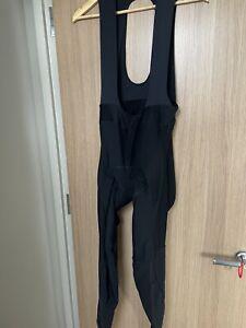 Rapha Men's Core Winter Bib Tights Black Size Xl With Pad