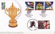 2003 Rugby Winners - Australia Post Cover - England Winners, Twickenham H/S