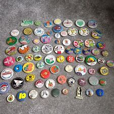 VINTAGE BUTTON PIN BADGES  (Various Locations) RETRO COLLECTION
