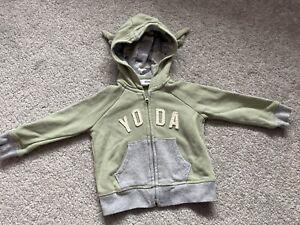 Boys 12-18 Months Star Wars Yoda Hoodie Gap