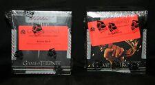 Game of Thrones Season 1 & Season 2 Factory Sealed Archive Box Boxes
