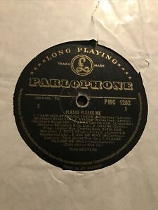 The Beatles - Please Please Me BLACK AND GOLD RARE 1st Press Vinyl LP Record