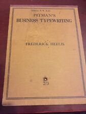 Pitman's Business Typewriting : A Course In Typewriting for the Business Student