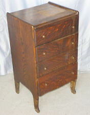 Antique Oak Cylinder Record Storage Cabinet – Edison Company Cylinder Records