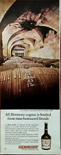 Hennessy All Hennessy Cognac Is Bottles from Time-Honoured Blends Advert 1964