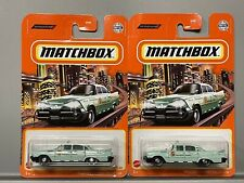 2 x '59 Dodge Coronet Police Car National Parks Forest Service Green Lot Of 2