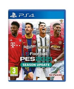 PES 2021 Season Update Sony playstation 4 PS4 Game 3+ new sealed uk fast postage
