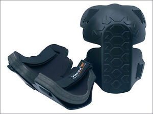 Vitrex 338140 Contractors Knee Pads, Pair of Pads, Safety Wear