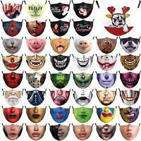 Mund-Nasen-Schutz-Masken waschbar wiederverwendbar Stoffmaske Behelfsmaske Maske