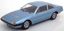 Kk Echelle Modèles 1972 Ferrari 365 GT4 2+2 Bleu le de 1000 1/18 Neuf en Stock