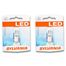 Sylvania SYLED - Two 1 Packs - DE3175SL LED Bulb Dome Map Trunk Cargo Area nl