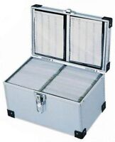 Neo 200 DJ Aluminium CD DVD Blu Ray Disc Storage Flight Carry Case Box