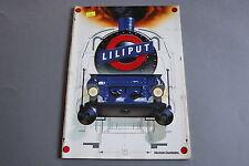 X221 LILIPUT Train catalogue Ho Hoe 1986 1987 82 pages 29,7*21 cm D F All