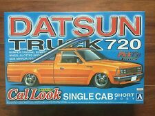 AOSHIMA 1/25 DATSUN 720 PICK UP TRUCK CAL LOOK SHORT BODY MODEL  KIT # 28438 F/S