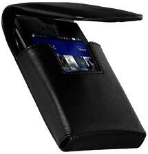 Elegante bolsa verticalmente f Nokia Lumia 710 estuche, negra, funda Black