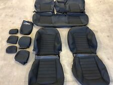 FACTORY OEM ORIGINAL TAKE OFF CLOTH REPLACEMENT SEAT COVERS BLACK FORD FUSION SE