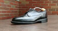 MENS ALLEN EDMONDS AE ORD BICYCLE TOE OXFORD SHOES SZ 9.5 D BLACK LEATHER 23009