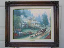 Thomas Kinkade SUNDAY AT APPLE HILL  canvas