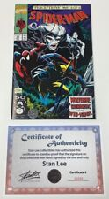 Marvel Spider-man #10 Signed Stan Lee w/COA Wolverine Appearance McFarlane Cover