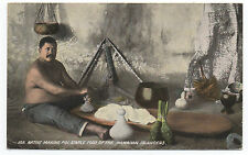 1900 Hawaii Private Mailing Postcard Poi Maker