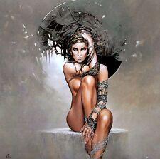 Karol Bak: Lost Pearl Fertig-Bild 70x70 Wandbild Mädchen Akt