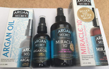 Argan Secret Miracle 10 & Hair Elixir Oil Duo Pack  ( 180mls and 60mls )