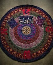 New Handcrafted Quilted Wiccan Circle To-Go for Modern Day Witches